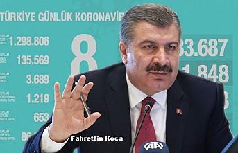 Türkiye'de Kovid-19'dan iyileşen hasta sayısı 86 bin 396'ya ulaştı