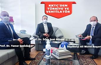 Yakın Doğu Üniversitesince Üretilen Ventilatörler Türkiye'de