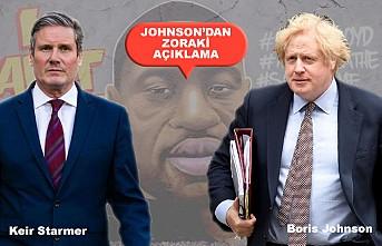 """Başbakan Johnson'ın """"George Floyd Sessizliği"""""""