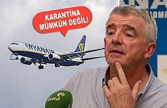 İngiltere'de Karantina Uygulamasına Ryanair'dan Tepki