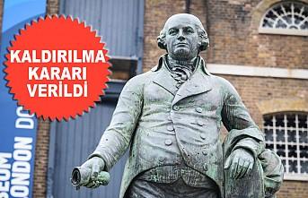 Köle Taciri Robert Milligan'ın Londra'daki Heykeli Sökülecek