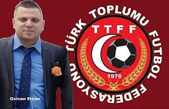 Türk Toplumu Futbol Federasyonu'nun Yeni Başkanı Osman Ercen