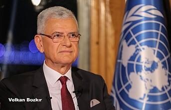 Volkan Bozkır'ın BM'de İlk Konuşması
