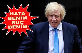 Boris Johnson'dan Koronovirüs İtirafı