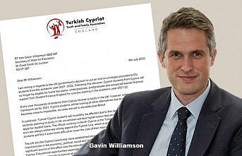 Eğitim Bakan'ı Williamson'a 'Student Finance' Mektubu