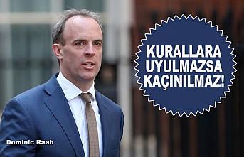 İngiltere Dışişleri Bakanı Raab'dan 'İkinci Dalga' Uyarısı