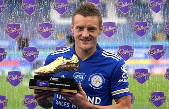 Leicester Cityli Vardy, Premier Lig tarihinin en yaşlı gol kralı oldu