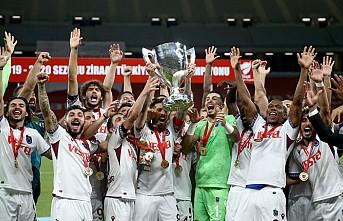 Trabzonspor, 9.ncu Defa Türkiye Kupası'nın Sahibi Oldu
