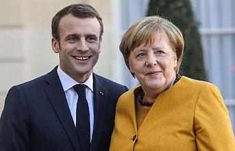 """Macron ve Merkel'den """"Doğu Akdeniz"""" Açıklaması"""
