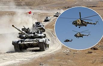Türkiye ile Azerbaycan ortak askeri tatbikatı devam ediyor