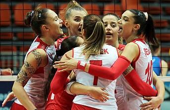 'Genç Kızlar' Voleybol'da Avrupa Şampiyonu