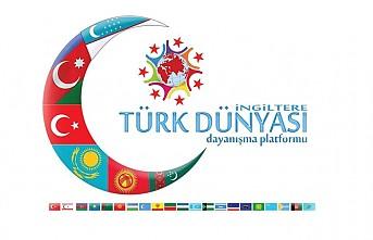 Azerbaycan'a, İngiltere Türk Dünyası Dayanışma Platformu'ndan Destek