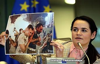 Belaruslu Muhalif Lider Tikhanovskaya Destek Arayışında
