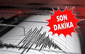 Ege Denizi'nde 5,3 Büyüklüğünde Deprem