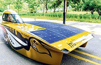İTÜ'nün güneş arabası Avrupa'dan dereceyle döndü
