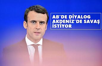 Macron, Türkiye'ye Karşı İki Yüzlü