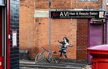 Banksy'nin yeni eseri Nottingham'da