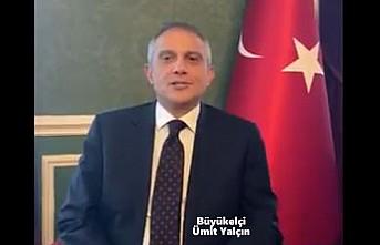 Büyükelçi Ümit Yalçın'dan, Sosyal Medya Üzerinden Cumhuriyet Bayramı Mesajı