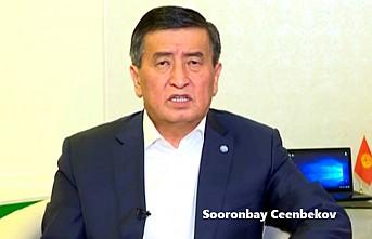 Kırgızistan Cumhurbaşkanı Ceenbekov İstifa Etti