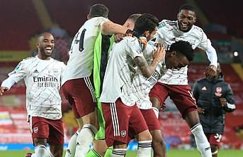 Liverpool'u Penaltılarda Geçen Arsenal Çeyrek Finalde
