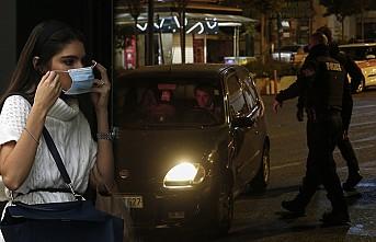 Yunanistan'da Sokağa Çıkma Yasağı