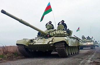 Azerbaycan Ordusu 27 Yıl Sonra Ağdam'a Bayrak Dikti