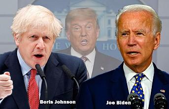 """Boris Johnson'ın Biden'ı Tebrik Mesajında """"Trump İzi"""""""
