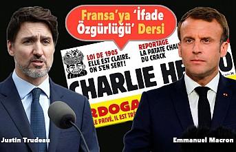 Justin Trudeau'dan 'Charlie Hebdo' İçin Kapak Olacak Sözler