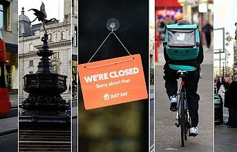 Londra Terkedilmiş Şehir Gibi