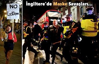 Londra'da, Gece Karantina Protestosu