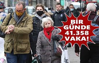 İngiltere'de Virüsün Yayılması Hız Kazandı