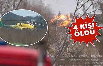 İngiltere'nin Bristol Kentinde Patlama