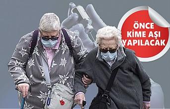 İngiltere, Aşı Yapılacakların Sıralamasını Açıkladı
