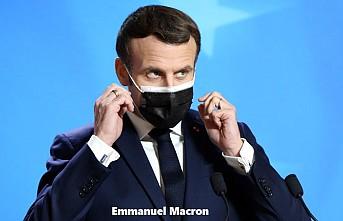 Macron'un Kovid-19 Testi Pozitif Çıktı