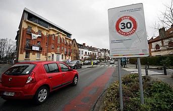 Brüksel'de Hız Sınırı 30 Kilometreye Düşürüldü