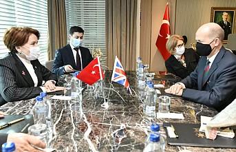 Akşener, İngiltere'nin Ankara Büyükelçisi Chilcott İle Görüştü