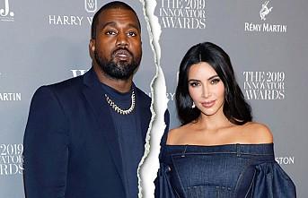 Kim Kardashian İle Kenya West Boşanıyor