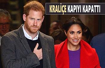 Prens Harry ve Eşi Meghan, Artık 'Kraliyet'e Dönemeyecek