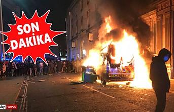 Bristol Karıştı, Göstericiler Karakola Saldırdı