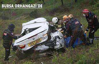 Feci Kazada İngiltere Plakalı Aracın Sürücüsü Hayatını Kaybetti