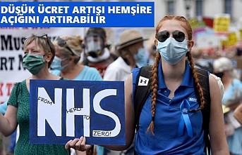 İngiltere'de Hükümet Hemşirelere Yüzde 1 Zammı Layık Gördü