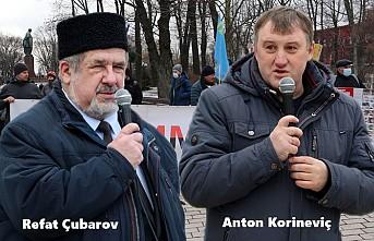 Kiev'de Kırım'la Dayanışma Etkinliği