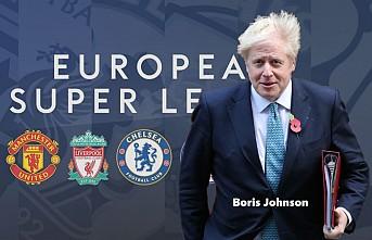 İngiltere Başbakanı Johnson'dan 'Süper Lig' Resti