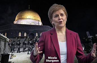 İskoçya Başbakanı Sturgeon'dan İsrail'e Mescid-i Aksa Tepkisi