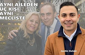 Justin Halabi, Anne-Babasıyla Birlikte Siyaset Yapacak