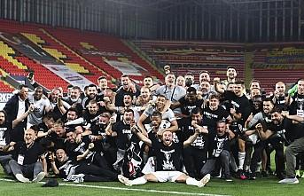 Süper Lig'de 2020-2021 Sezonu Şampiyonu Beşiktaş