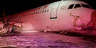 Air Canada uçağı facianın eşiğinden döndü!