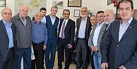 AK Partili Cuma İçtenden Londrada esnaf ziyaretleri