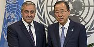 Akıncı BM Genel Sekreteri Ban ile görüştü