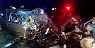 Aksarayda feci kaza: 6 ölü
